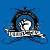Camiseta Obrint Pas puño azul