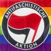 Bandera Antifa LGBTI