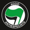 Bandera Acció Antiespecista Negra