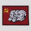 Pedaç brodat Marx Engels Lenin bandera comunista falç i martell