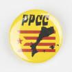 Xapa PPCC mapa estelada Països Catalans ø 25mm