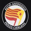 Samarreta de tires Acció Antifeixista Països Catalans de noia AAPC