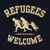 Samarreta de tires Refugees Welcome unisex