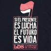 Samarreta LDS negra presente lucha futuro vida Lagrimas De Sangre