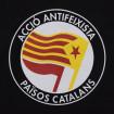 """Bossa """"tote"""" Acció Antifeixista Països Catalans AAPC negra"""