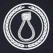 Samarreta Crim logo negra