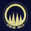 Camiseta Smoking Souls logo groc