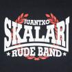 Samarreta negra Juantxo Skalari & La Rude Band