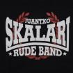 Sudadera negra Juantxo Skalari & La Rude Band