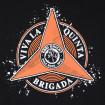 Camiseta negra Ebri Knight Viva la quinta brigada