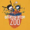 Camiseta infantil amarilla Zoo - Tururú xafant fang