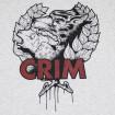 Camiseta gris Crim lobo y oveja