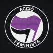 Camiseta negra Acció Feminista
