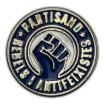 Pin metàl·lic Partisano Rebels i Antifeixistes ø20mm