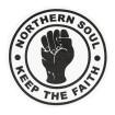 Samarreta Northern Soul keep the faith