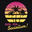 Samarreta sun, sea, socialism!