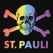Samarreta entallada St. Pauli calavera LGTBI Sant Martí