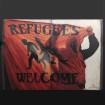 "Làmina ""Refugees Welcome"" Roc BlackBlock"