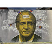 5 Pegatinas del mural censurado del Borbón de Roc BlackBlock