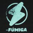 Samarreta La Fúmiga logo blau